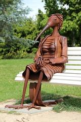 Kiwi (Angie NZ) Tags: sculpture aucklandbotanicalgardens
