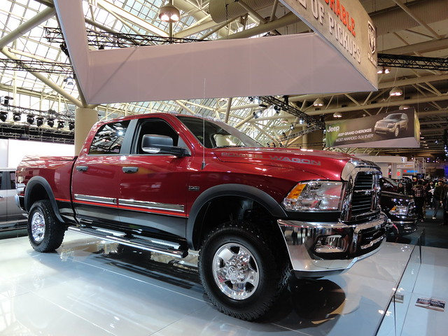 auto show toronto ontario canada wagon power international dodge ram 2500 2012