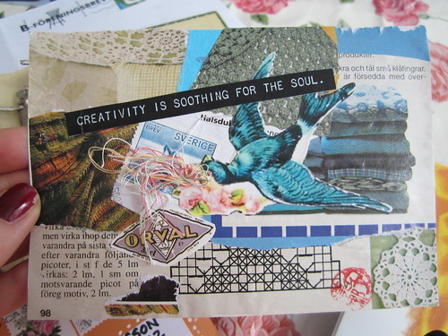 Creativity Postcard by iHanna