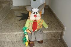 Fred (Be Artes e Encantos) Tags: artesanato coelhos pascoa tecido cenoura