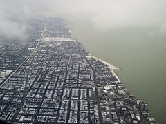 Chicago, Lake Michigan Shoreline Photo