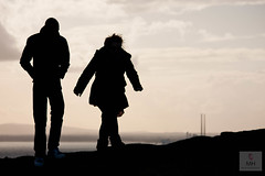 Heading Home (Mick h 51) Tags: ireland sunset howth dublin lighthouse eos couple cliffs baily 450d 55250