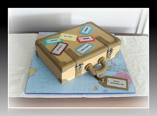 Another Suitcase Cake
