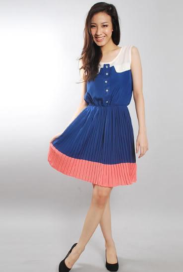 Love&Bravery Rikka Colourblock Dress 3 -S$24