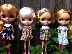 Four blondes!