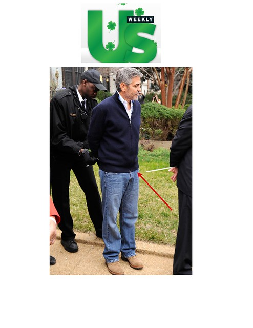 GEORGE CLOONEY US Weekly 3/16/2012