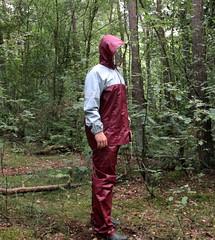 Red / Grey Agu (Agu-) Tags: hunter rainsuit regenanzug regenpak hunterboots