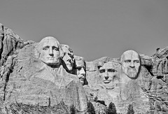 Make room, boys! Day 10 (Notkalvin) Tags: monument southdakota blackhills project carving rushmore granite keystone digitalmanipulation 366 mikekline michaelkline borglund addaface notkalvin notkalvinphotography