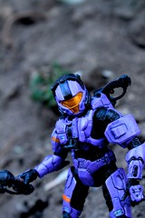 Halo 3 series 3: Spartan CQB (Violet) [BBTS Exclusive] (Kos the RoBot) Tags: 3 toys action violet halo microsoft figure series spawn bungie exclusive industries spartan 343 mcfarlane cqb bbts