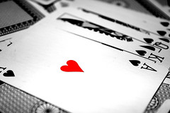 Red hearts (Ricky92f) Tags: red heart poker scala cuori carte