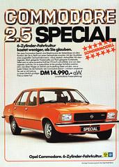 Opel Commodore B (1976) Special (H2O74) Tags: auto old b orange 6 c