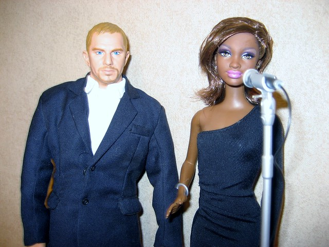 KEVIN COSTNER and Whitney Houston The Bodyguard