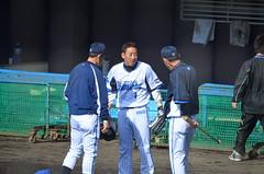 DSC_0867 (mechiko) Tags: 120205 横浜ベイスターズ 金城龍彦 横浜denaベイスターズ 2012春季キャンプ
