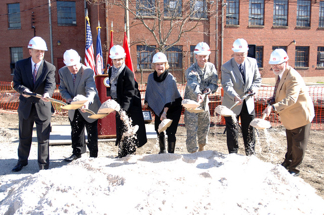 Officials break ground on the Beaver Creek Flood Risk Reduction Project