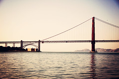 The Southern Anchor (Leighton Wallis) Tags: sanfrancisco california birthday ca cruise usa water bay arch unitedstatesofamerica goldengatebridge 75thanniversary ggnpc11