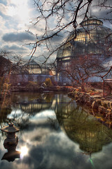 In the Koi Pond (Notkalvin) Tags: longexposure fish reflection michigan detroit conservatory le nd carp belleisle scripps koipond whitcomb neutraldensity mikekline michaelkline takingpictureswithfriends notkalvin notkalvinphotography