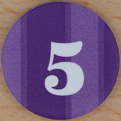 M&S Purple Bingo Number 5 (Leo Reynolds) Tags: canon eos iso100 5 five number squaredcircle lotto 60mm f80 bingo loto onedigit housie housey 0sec 40d hpexif numberset grouponedigit numberbingo houseyhousey xsquarex housiehousie xleol30x sqset074 bingoset24