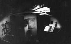 Pinhole camera (Meagan Rochelle Ranes) Tags: camera white black diy pinhole homemade
