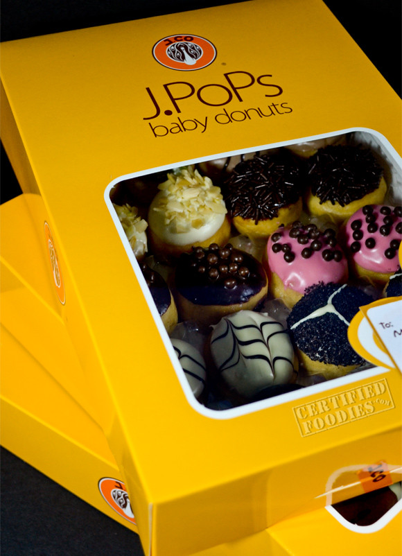 J.CO baby donuts named J.Pops - Love it - CertifiedFoodies.com