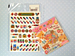 My Sticker Collection - Samples (miki the artist) Tags: cute japanese sticker girly hobby kawaii collecting stickeralbum stickercollection mikitheartist