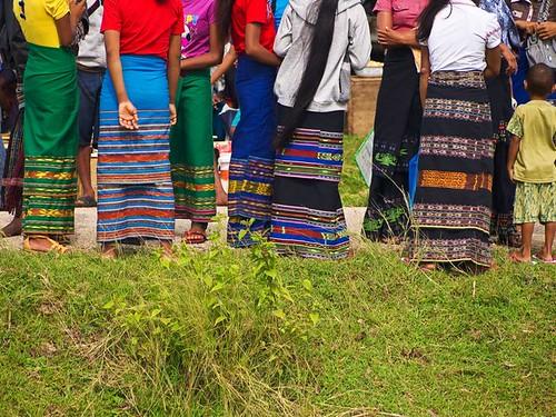 Wearing Ikat, West Sumba