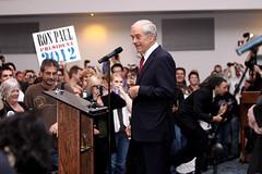 Ron Paul (Gage Skidmore) Tags: arizona paul post rally ron republican libertarian primary mesa debate