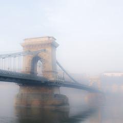 foggy Chain Bridge 54/365 + 1 (Csaba Kovacs) Tags: bridge fog nikon hungary year budapest foggy days chain 365 híd hungarian magyarország köd lánchíd 366 lánc d300s