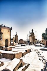 Louyat enneig (...::: Antman :::...) Tags: winter snow france cemetery hiver neige limoges cimetire ef24105mmf4lisusm canoneos7d louyat