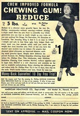 ad 1950s comicbook weightloss