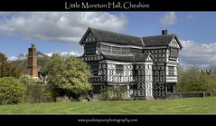 Little Moreton Hall (Paul Simpson Photography) Tags: charity uk england house building history home grass sunshine mystery europe cheshire bluesky tudor historic housing nationaltrust manorhouse littlemoretonhall timberhouse photosof picturesof blursky imagesof woodenframebuilding april2012 paulsimpsonphotography spring2012 daysoutin