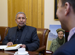 Meeting with Director of the People's Museum in Herat 01 (PolandMFA) Tags: afghanistan history director historia afganistan