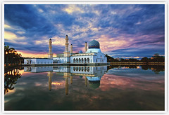 Kota Kinabalu City Mosque Sunrise (Vin PSK) Tags: mygearandme mygearandmepremium mygearandmebronze mygearandmesilver mygearandmegold mygearandmeplatinum mygearandmediamond