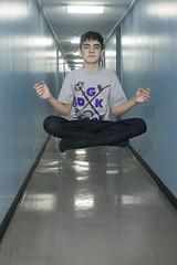 Hallway Levitation - Meditation (Fadde Photography) Tags: photography hall flying flight floating levitation trick