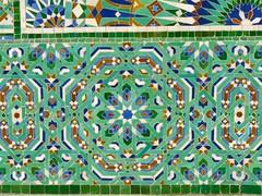 Morocco, Casablanca, Mosque Hassan II (balavenise) Tags: art tile geometry islam mosque morocco maroc casablanca azulejo gomtrie cramique ceramique mosque mesquita hassanii carrelage islamart zellige