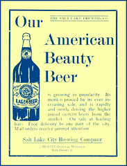 1905   American Beauty Beer   Salt Lake brewing Company (carlylehold) Tags: city opportunity lake robert beer beauty mobile brewing for is fine salt email mothers company smartphone american join tmobile nursing 1911 keeper signup haefner carlylehold solavei haefnerwirelessgmailcom