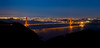 Golden Gate Bridge (andreaskoeberl) Tags: sanfrancisco california city bridge blue red panorama orange reflection northerncalifornia skyline night dark highresolution nikon cityscape marin landmarks illuminated goldengatebridge goldengate headlands marincounty bluehour sausalito stitched marinheadlands d7000 nikond7000 andreaskoeberl