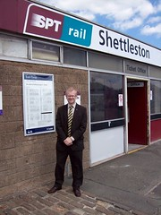 "Outside Shettleston Train Station • <a style=""font-size:0.8em;"" href=""http://www.flickr.com/photos/78019326@N08/6981882493/"" target=""_blank"">View on Flickr</a>"