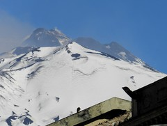 A changing view (etnaboris) Tags: winter italy mountain snow volcano craters sicily etna 2012 montagnola nicolosi newsoutheastcrater