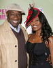 Michael Clarke Duncan and Omarosa Manigault Stallworth Perez Hilton's Mad Hatter Tea Party Birthday Celebration held at Siren Studios Hollywood, California