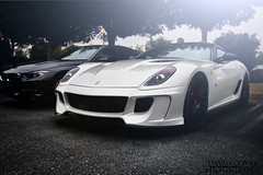 Vorsteiner 599-VX (David Coyne Photography) Tags: white sports speed fast ferrari diamond explore exotic need supercar aspera sportscar horsepower vorsteiner 599vx