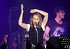 Kylie Minogue performs on stage during the opening night of her Anti-Tour UK tour at Manchester Academy