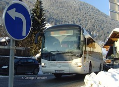 Snow bound (georgeupstairs) Tags: snow man ice austria coach stubaital skibus neustift ivb innsbruckerverkehrsbetriebe lionsregio i6uet
