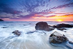 Shellys Beach, Port Macquarie - NSW (James.McGregor) Tags: ocean morning travel seascape beach beautiful canon landscape movement waves sydney australia filter nsw newsouthwales hitech shellys byronbay portmacquarie surfersparadise coffsharbour goldcoast 1740l gnd jamesmcgregor 5dmk2