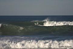Surfeando (andresbasurto) Tags: mar surf wave playa deporte swell olas zarautz surfista andresbasurto