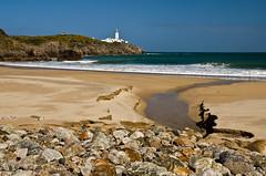 Fanad Beach (Philip Blair's Photos) Tags: ireland sea lighthouse beach nikon rocks sigma peninsula 1770 donegal ulster fanad d7000