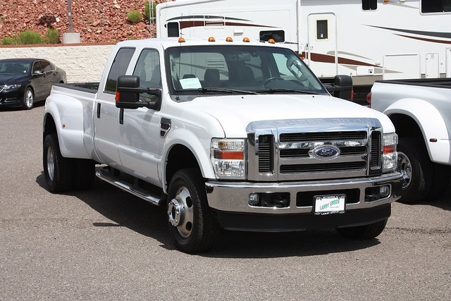white ford truck diesel duty pickup super turbo 2010 f350 dually crewcab 27apr2014