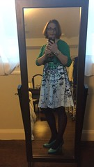 Spring is here! Time to break out the floral dresses and colored tights! #boston #finally (Nameless Anon) Tags: boston finally