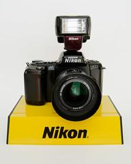 Nikon N6006/F-601 (bhophotos) Tags: camera film lens nikon nikkor 2870mmf3545d n6006 35mmslr sb23speedlight