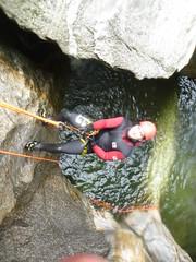 P1120376 (Mountain Sports Alpinschule) Tags: blue mountain sports lagoon canyoning zillertal zemmschlucht alpinschule