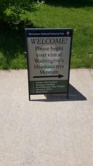 2016-05-20 - Washington's Headquarters museum sign (zigwaffle) Tags: history newjersey nj americanrevolution morristown georgewashington 2016